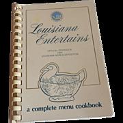 Louisiana Entertains Cookbook 1984 World Exposition
