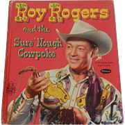 Tell-a-Tales Whitman Roy Rogers and the Sure 'Nough Cowpoke