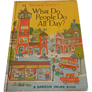 Unbridged Richard Scarry's What Do People Do All Day