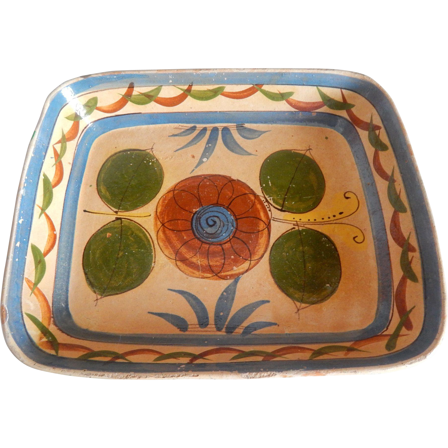 Mexican Pottery Casserole Dish
