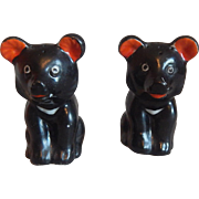 Black Bear Salt and Pepper Shakers