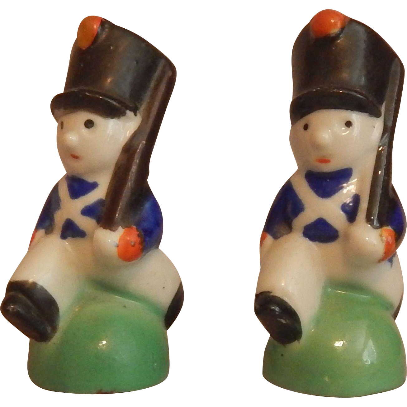 Soldier Salt and Pepper Shakers
