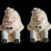 Humpty Dumpty Salt and Pepper Shakers