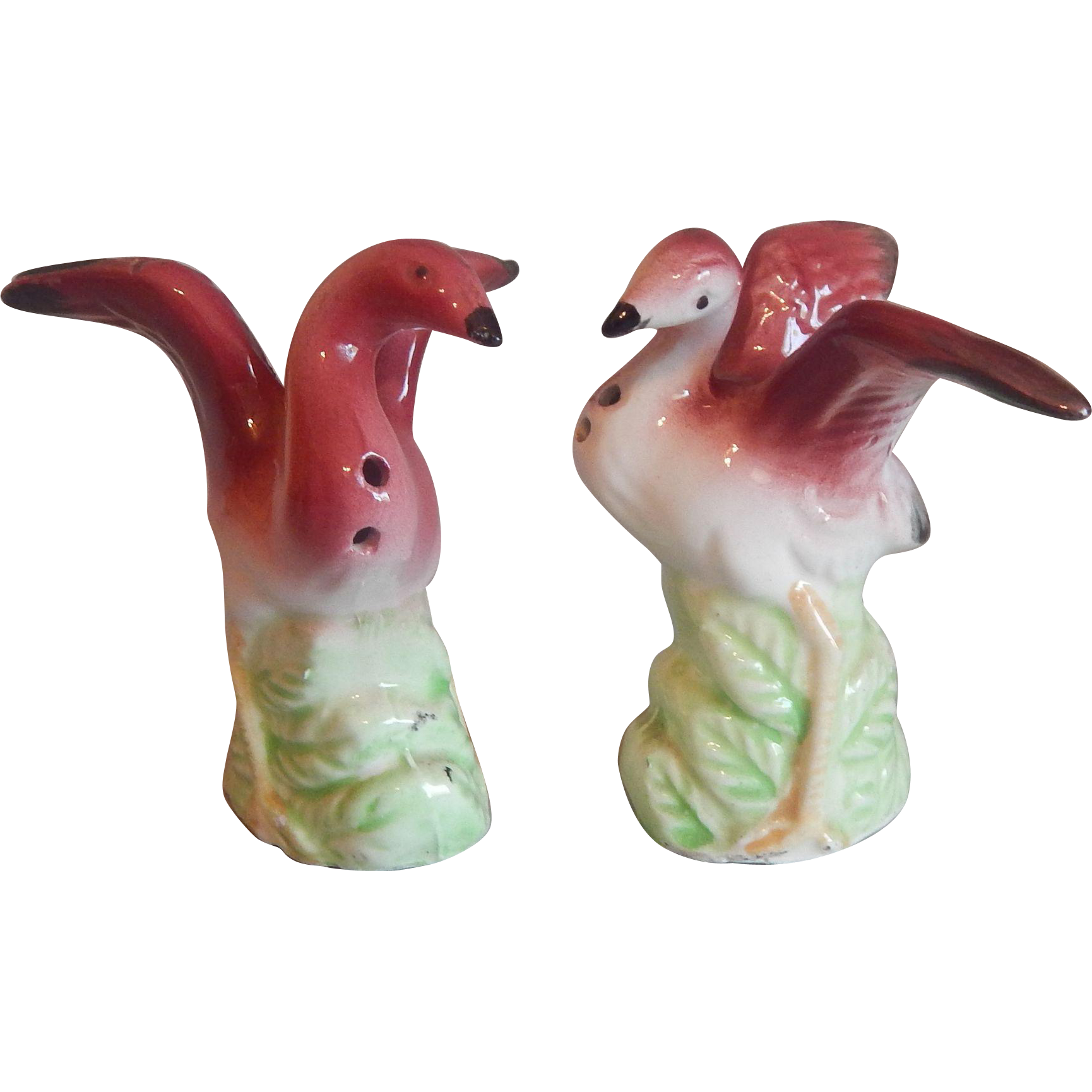 Flamingo Salt and Pepper Shakers