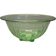Anchor Hocking Depressiong Green Mixing Bowl