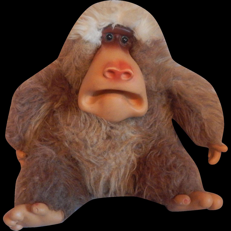 1977 Stuffed Gund Toy Baboon