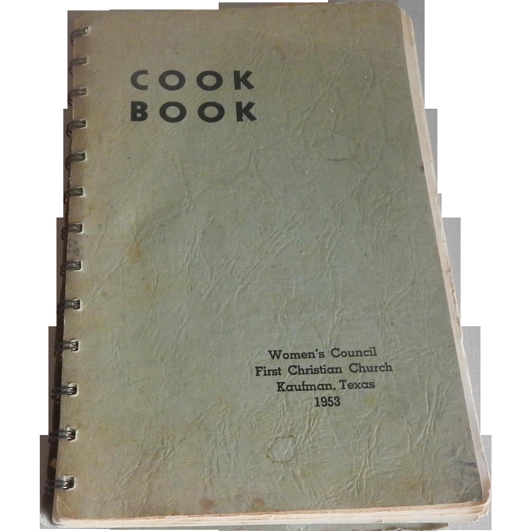 Kaufman Texas 1953 Cookbook