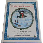 The Christmas Snowman by Margery Cuyler