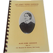 An Army Wife's Cookbook : Alice Kirk Grierson