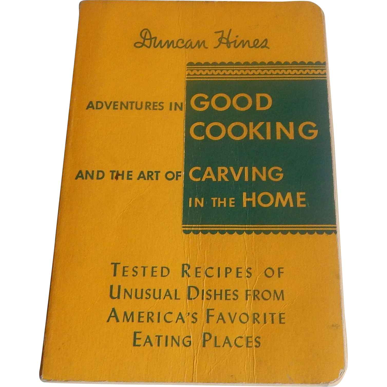 Duncan Hines Adventures in Good Cooking