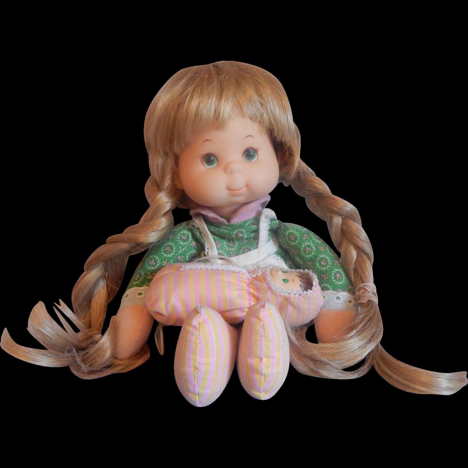 Mattel 1974 Mama Bean and Baby Doll