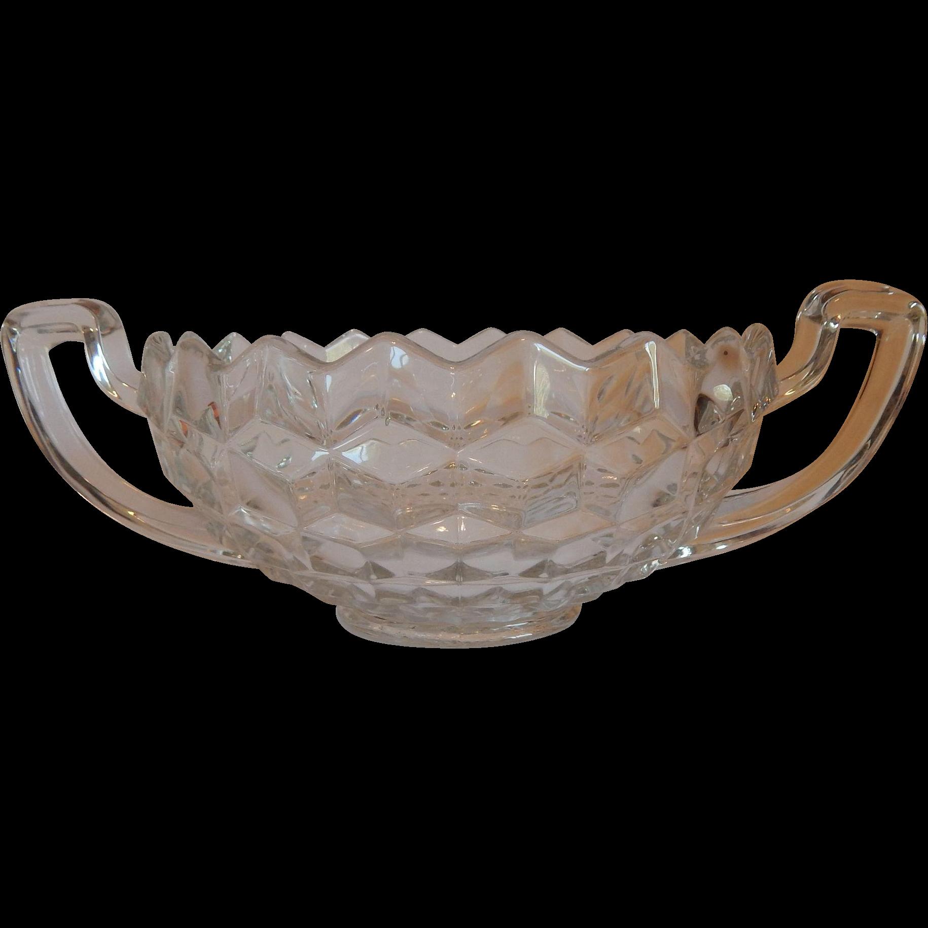 Fostoria  American Crystal Trophy Bowl