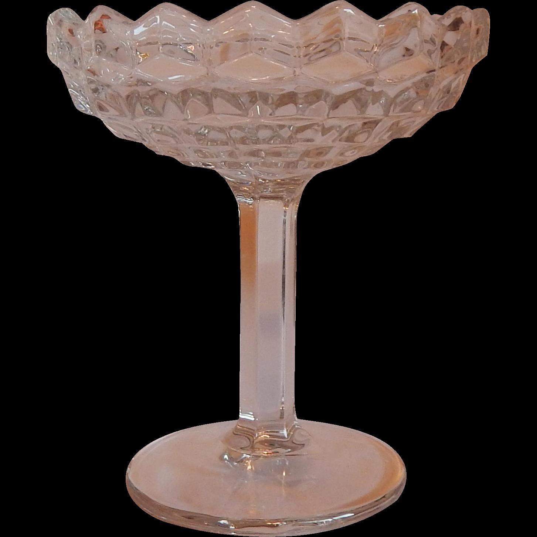 Fostoria Glass American Crystal Compote