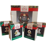 Hallmark Keepsake Little Frosty And Friends Ornaments