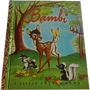 A Little Golden Book Bambi