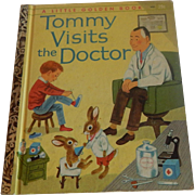 Little Golden Book Tommy Vists The Doctor