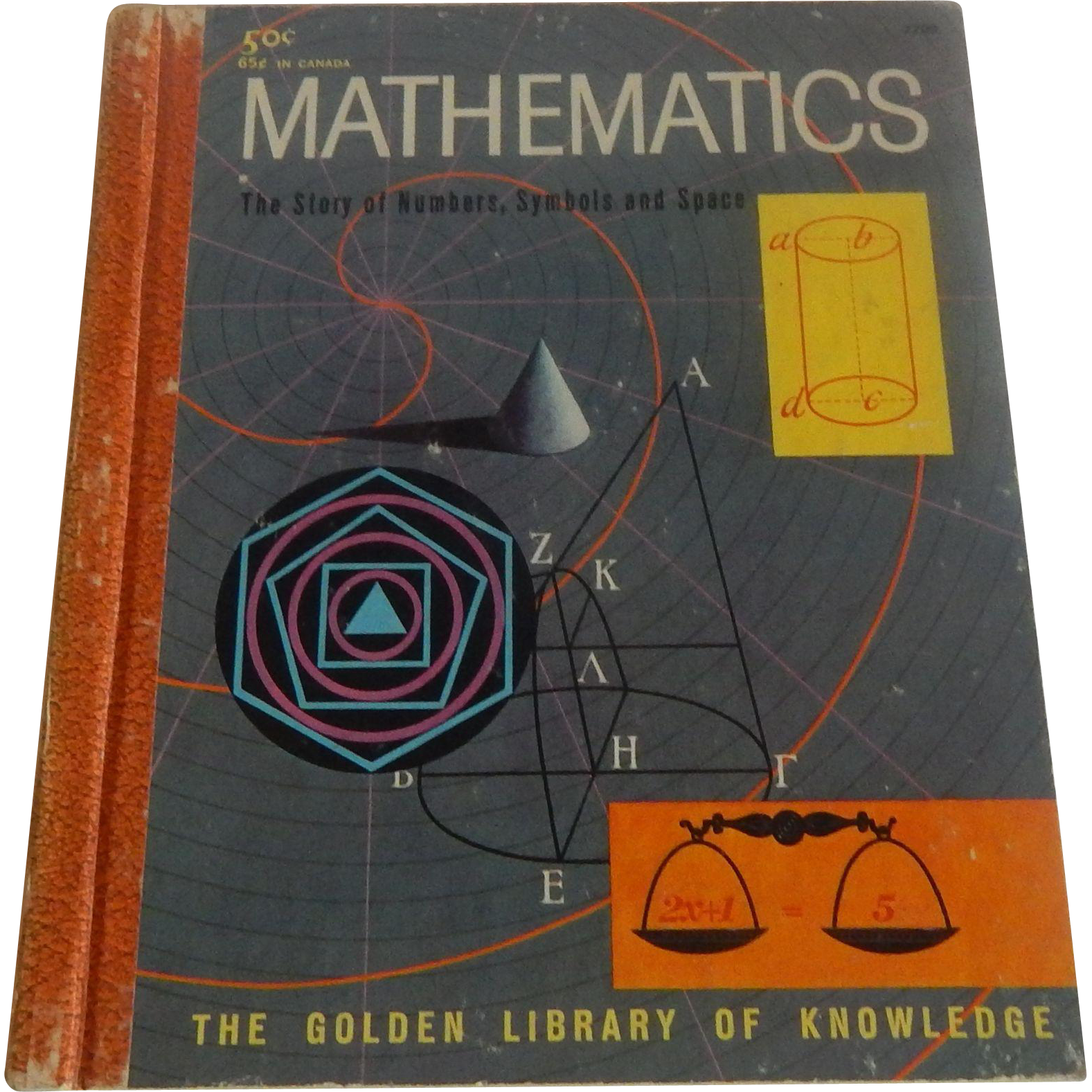 The Golden Library Of Knowledge Mathematics