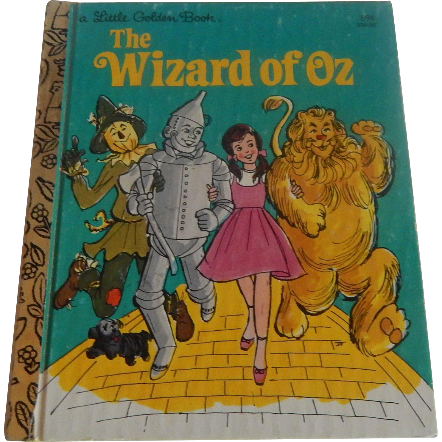 A Little Golden Book The Wizard of OZ