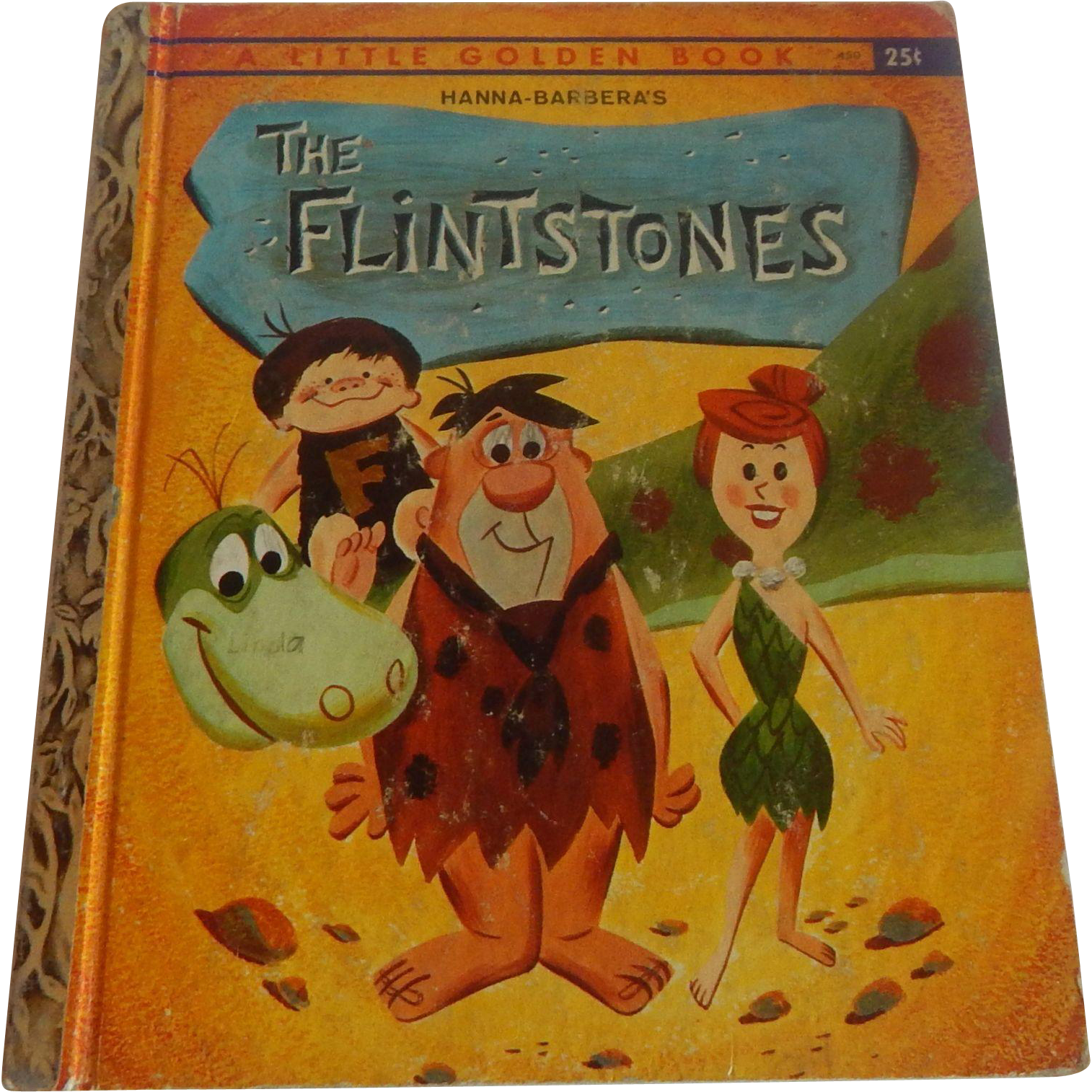 A Little Golden Book Hanna-Barbera's The Flintstones