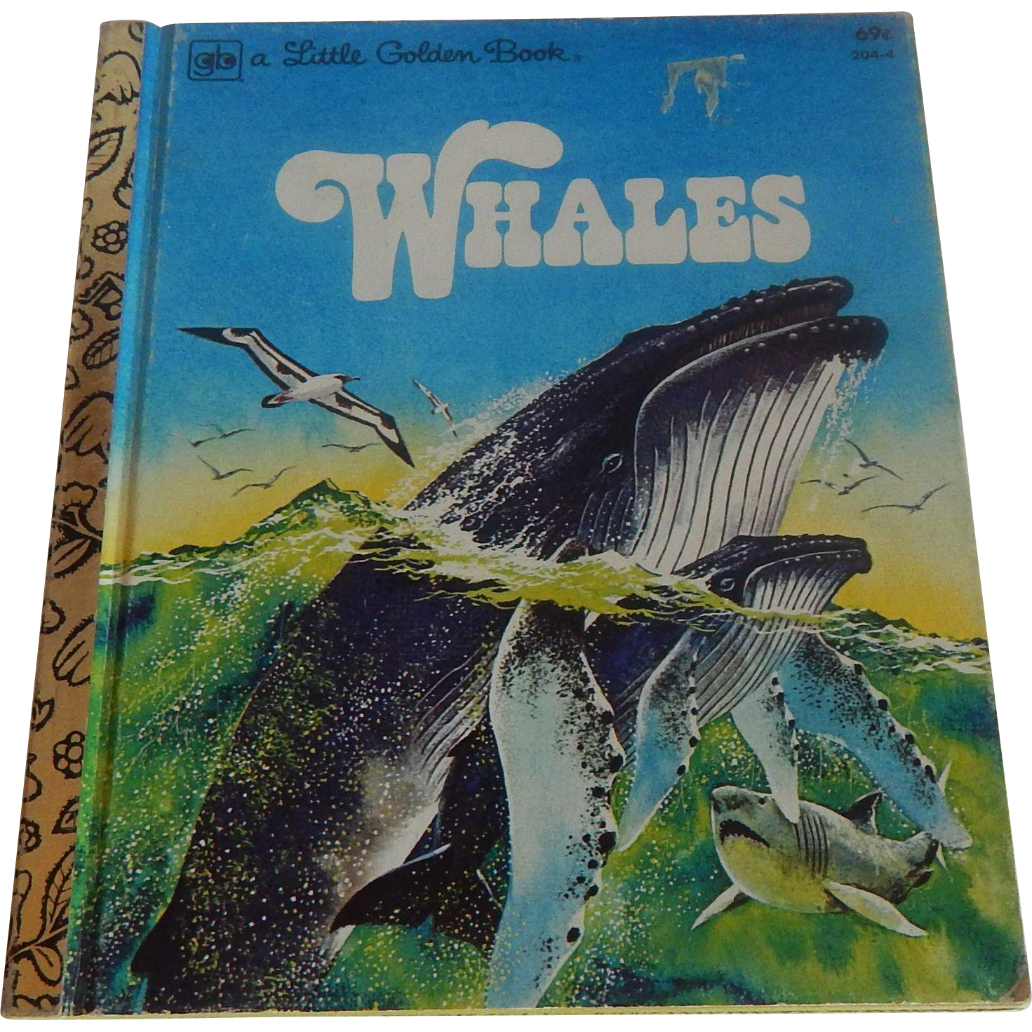 A Little Golden Book Whales