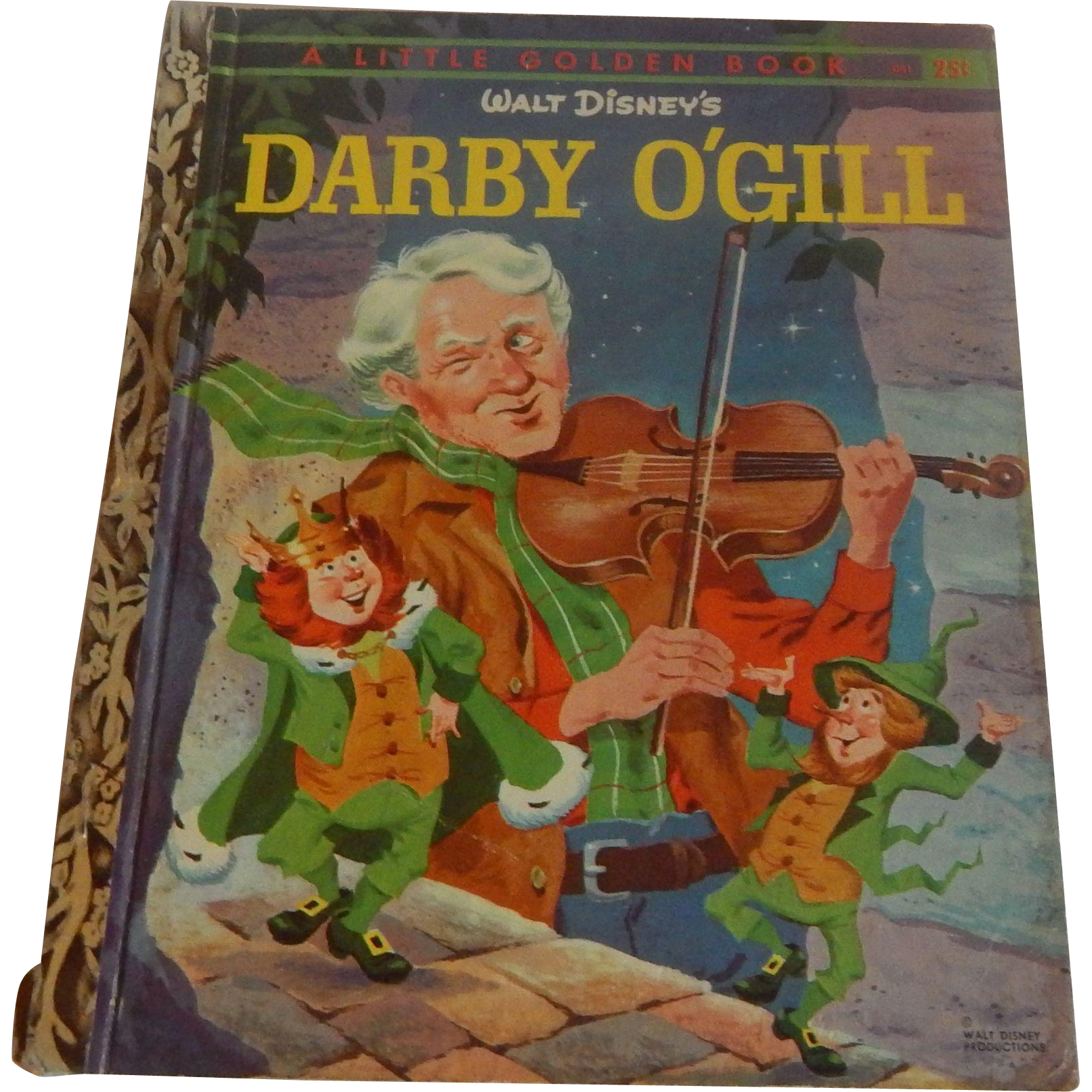 Little Golden Book Darby O'Gill