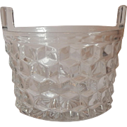 Fostoria American Crystal American Ice Bucket