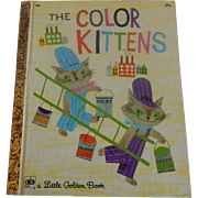 Little Golden Book The Color Kittens