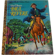 Little Golden Book Walt Disney's Paul Revere