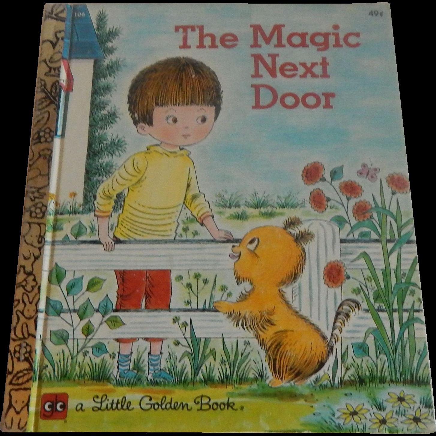 Little Golden Book The Magic Next Door