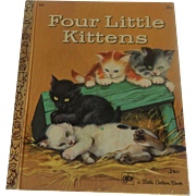 Little Golden Book Four Little Kittens