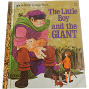 Little Golden Book The Little Boy and the Giant