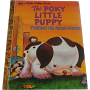 Little Golden Book The Poky Little Puppy