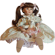 Pauline Bjonness Tracy Porcelain Doll