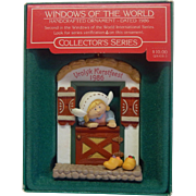 Hallmark Windows of the World  Ornament