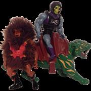 Master Of The Universe Grizzlor Skeletor Battle Lion