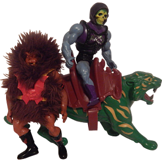 Master Of The Universe Grizzlor Skeletor Battle Lion