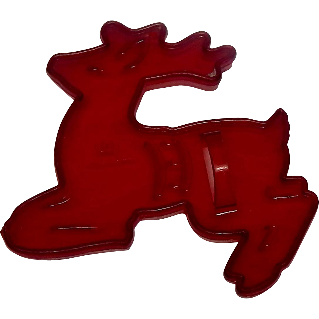 HRM Christmas Reindeer Cookie Cutter