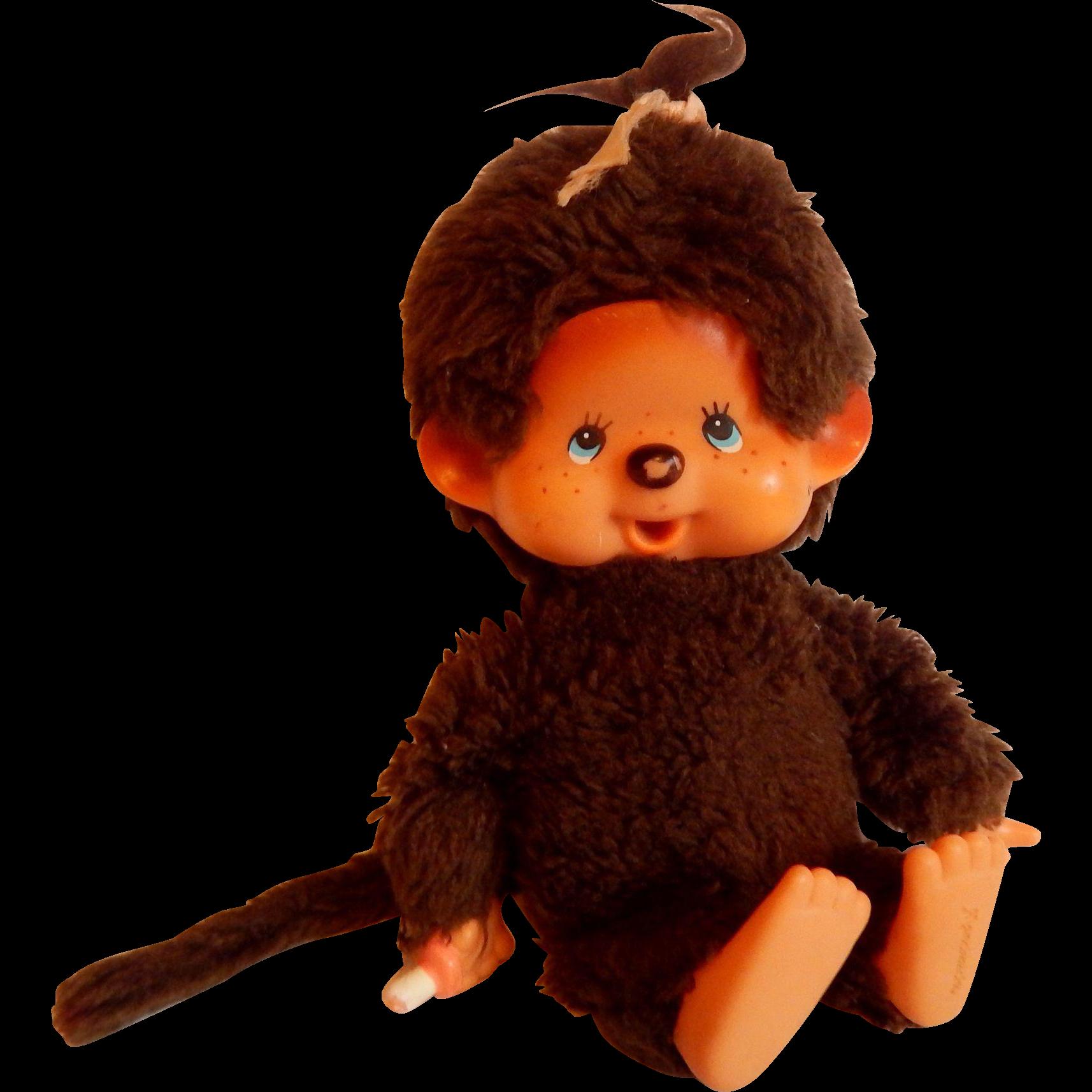 Sekiguchi Mattel Monchhichi Plush Toy