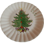 Blue Ridge Christmas Tree Plate