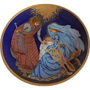 The Nativity Hutschenreuther 1982 Christmas Plate