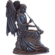 Metzke Design Pewter Nativity Angel Figurine