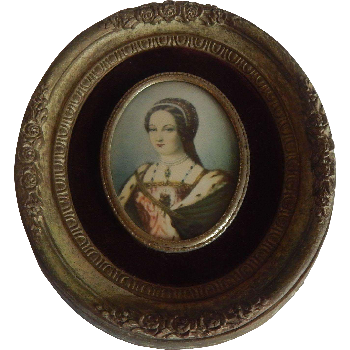 Cameo Creation Lady Jane Grey Picture Frame Print