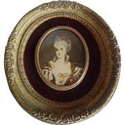 Cameo Creation Mme. Lambert de Morigney Frame Print