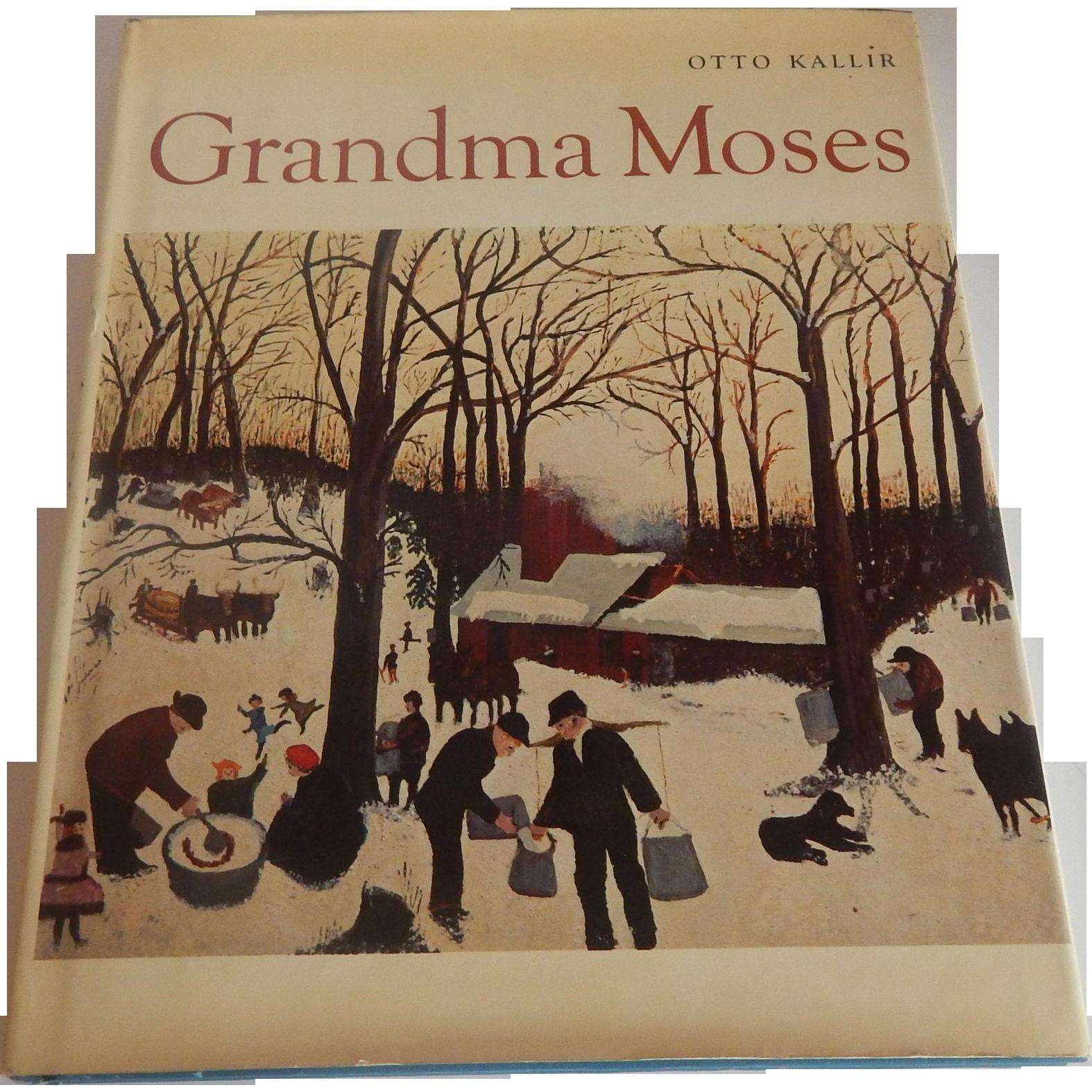Gramdma Moses by Otto Kallir