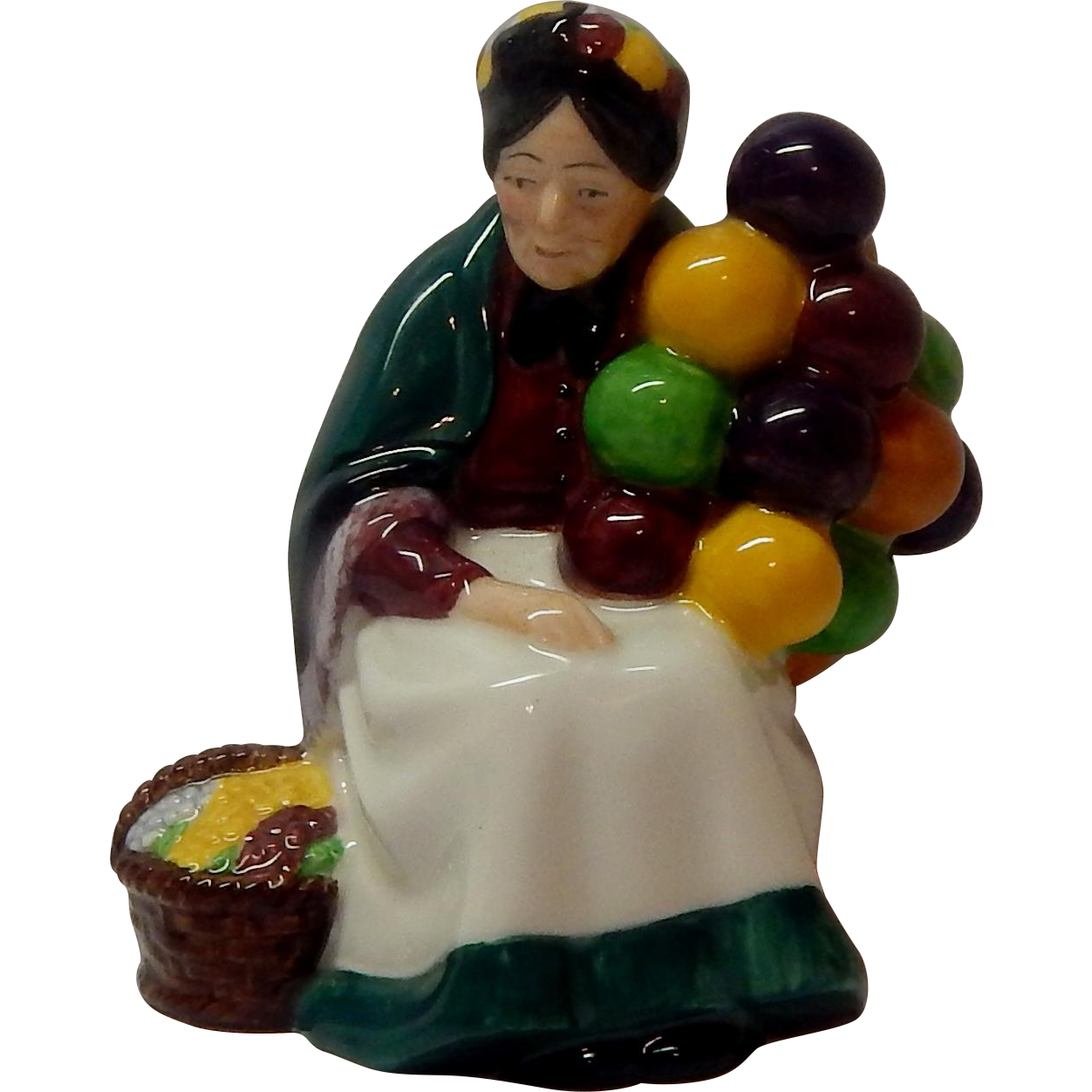 Royal Doulton The Old Balloon Seller Figurine