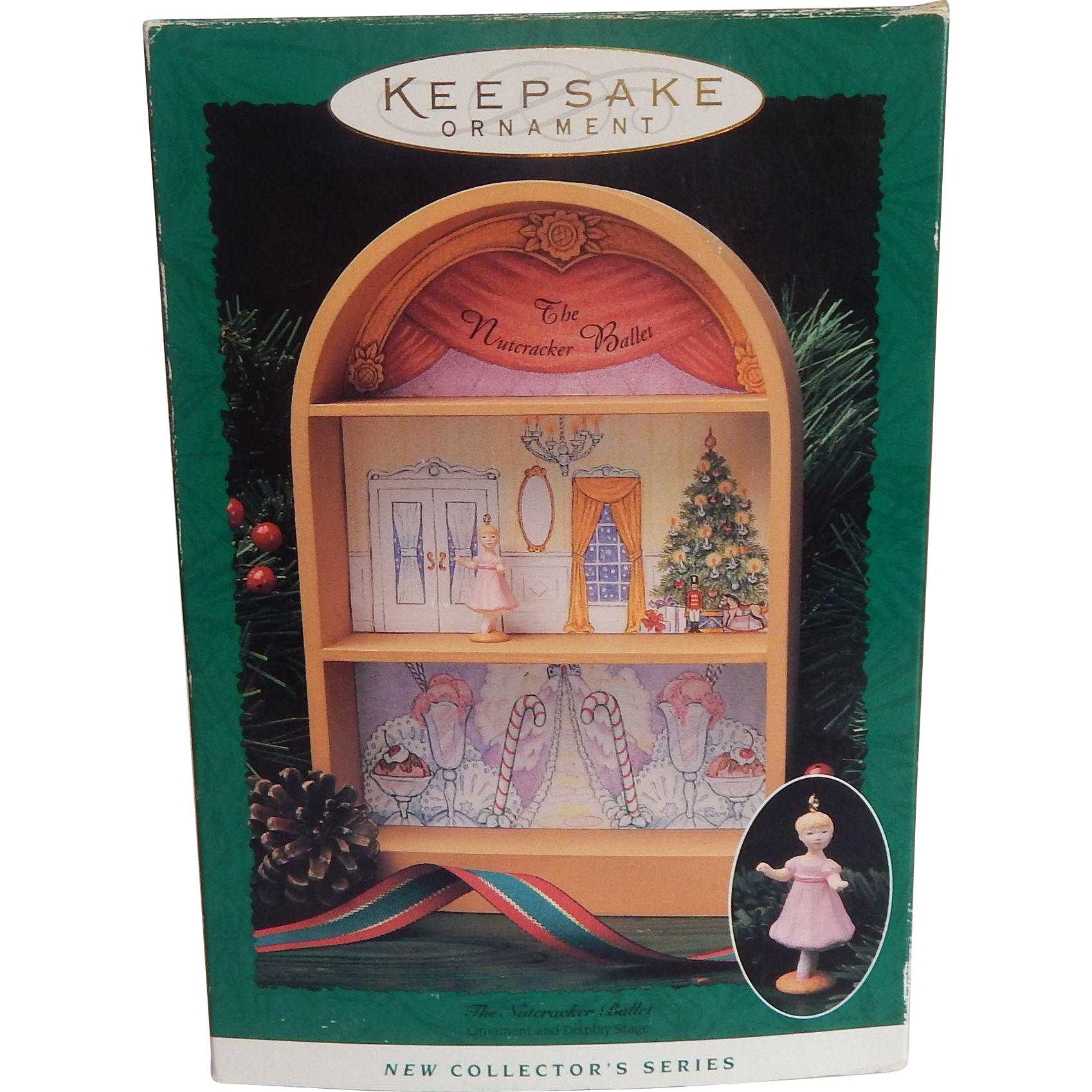 Hallmark Keepsake  Nutcracker Ballet Miniature Ornaments