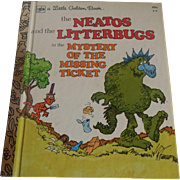 Little Golden Book The Neatos and the Litterbugs