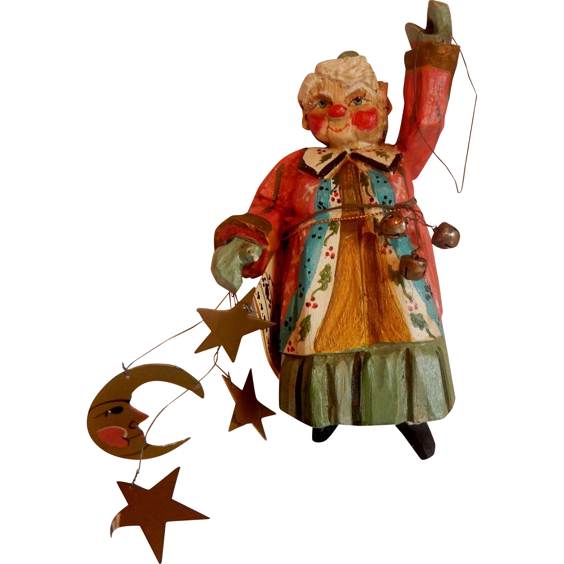 House Of Hatten Enchanted Forest Lady Elf Ornament