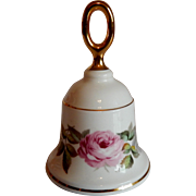 Royal Worcester Danbury Mint Porcelain Bell