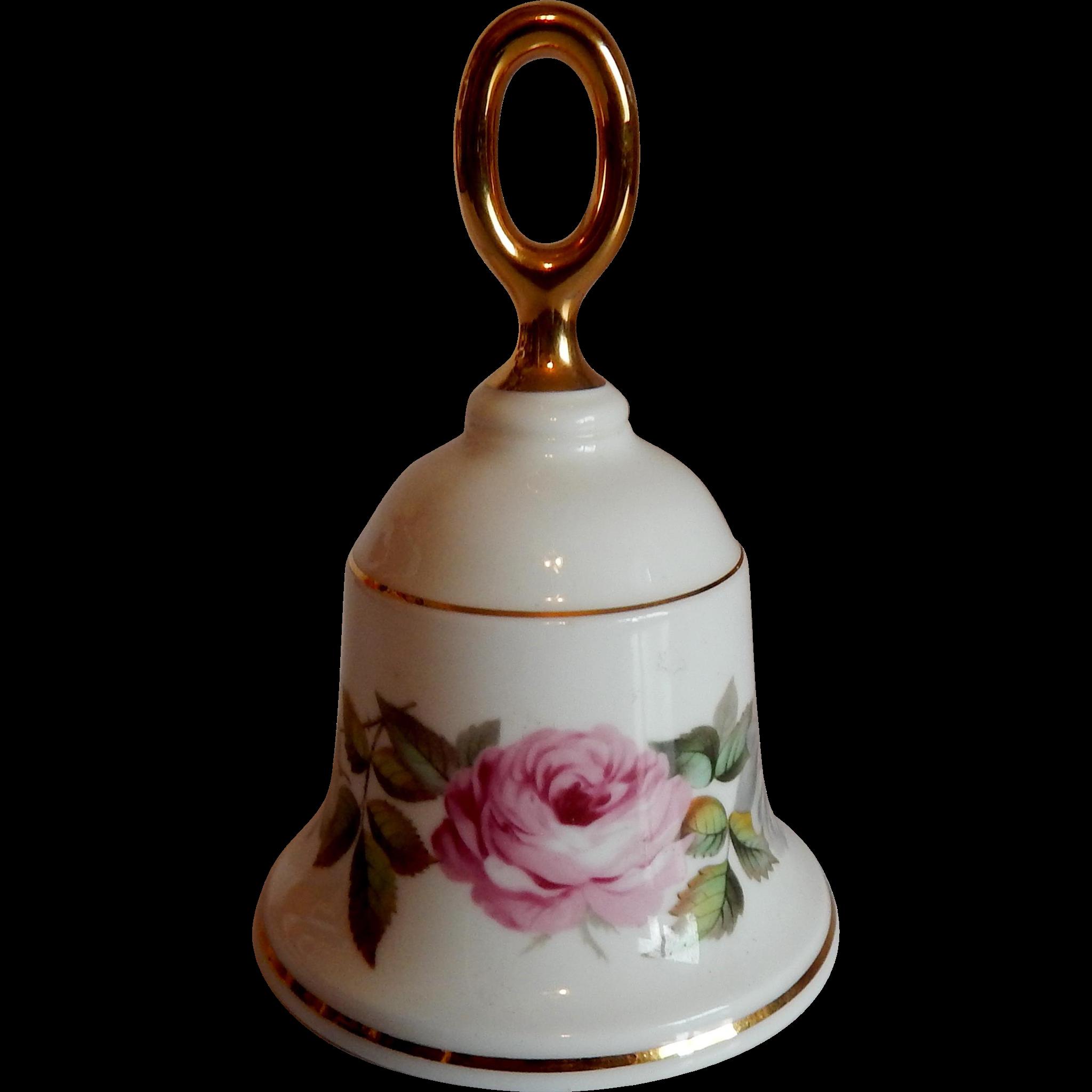 Royal Worcester Danbury Mint Porcelain Bell